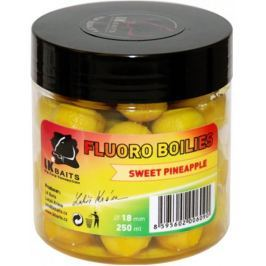 Lk Baits Boilie Fluoro 250 ml 18 mm wild strawberry