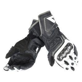 Dainese rukavice CARBON D1 LONG vel.XS černá/bílá/antracit, kůže (pár)