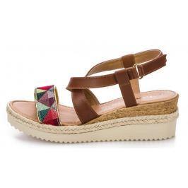 Tamaris dámské sandály 36 hnědá