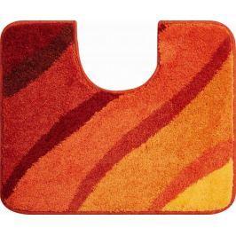 GRUND Česká koupelnová předložka, DUNA 50x60 cm s.v., oranžová