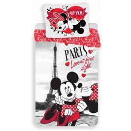 B.E.S. Petrovice povlečení Mickey and Minnie in Paris 140x200 70x90