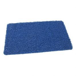 FLOMAT Modrá protiskluzová sprchová obdélníková rohož Spaghetti - 59,5 x 35 x 1,2 cm