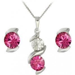 MHM Souprava šperků Sisi Rose 34168 stříbro 925/1000