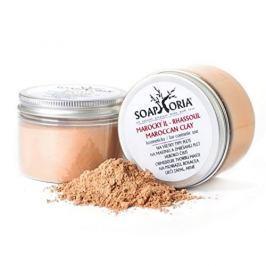 Soaphoria Přírodní kosmetický marocký jíl (Maroccan Clay For Cosmetic Use) 150 g