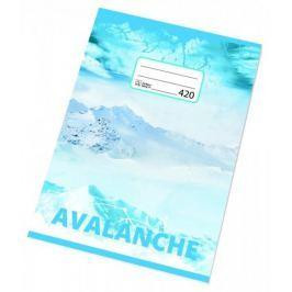Sešit bezdřevý 420 - A4 čistý, 20 listů