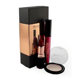 Makeup Revolution Sada dekorativní kosmetiky - Barevný balíček Matte Red (Matte Red Collection)