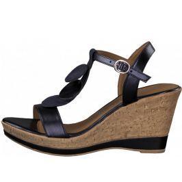 Tamaris dámské sandály 38 tmavě modrá