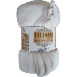 Home Deka Deluxe Flanell krémově bílá