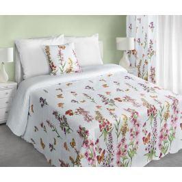 My Best Home Přehoz na postel Romace květiny, 220x240 cm