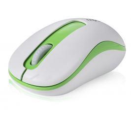 Rapoo M10 bílá/zelená (M10)
