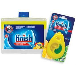 Finish Čistič myčky Lemon 250 ml + DEO Lemon