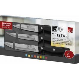 CS Solingen Sada nerezových nožů Tri-Star, 3 kusy