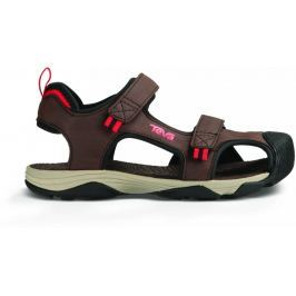 Teva C Toachi 4 Chocolate/Black/Red 31