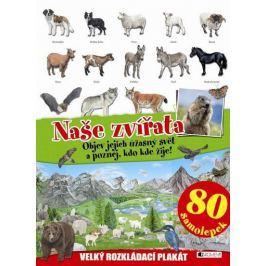 Naše zvířata - velký rozkládací plakát,