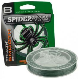 Spiderwire Splétaná šňůra Stealth Smooth 8 150 m zelená 0,12 mm, 10,7 kg