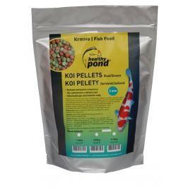 Healthy Pond Plovoucí pelety červené/zelené 2mm 3L Produkty