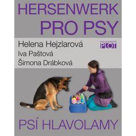 Hejzlarová Helena: Hersenwerk pro psy - Psí hlavolamy Zvířata