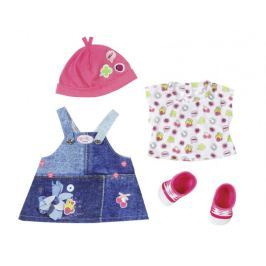 BABY born Džínová souprava šaty Doplňky pro panenky