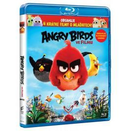 Angry Birds ve filmu (3D+2D verze, 2 disky)   - Blu-ray Animované