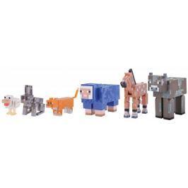 TM Toys Minecraft - Tame animal pack set sběratelských figurek Sběratelské figurky