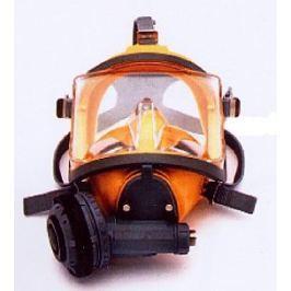 INTERSPIRO Maska celoobličejová DIVATOR MK II AGA žlutá - podtlak Potápěčské brýle, masky