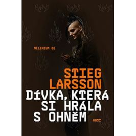Larsson Stieg: Dívka, která si hrála s ohněm Krimi, detektivky