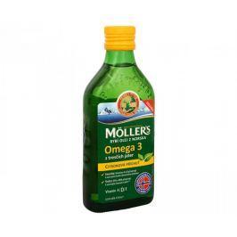 Möller´s rybí olej Omega 3 z tresčích jater s citronovou příchutí 250 ml Klouby