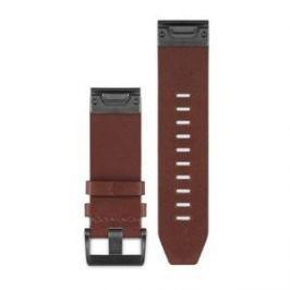 Garmin náhradní kožený řemínek pro Fenix 5 a Forerunner 935 QuickFit™ 22, hnědý Fitness náramky