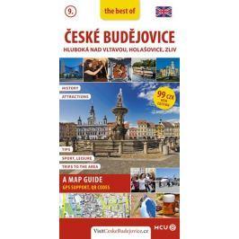 Eliášek Jan: České Budějovice - kapesní průvodce/anglicky Mapy, cestování