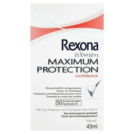 Rexona Tuhý deodorant Women Maximum Protection Confidence 45 ml Produkty