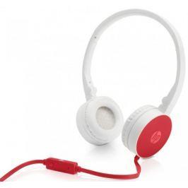 HP Náhlavní souprava HP H2800 - Cardinal red (W1Y21AA) Sluchátka s mikrofonem