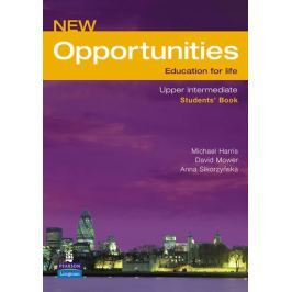 Harris Michael: New Opportunities Global Upper-Intermediate Students´ Book NE Slovníky, učebnice