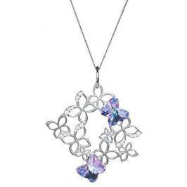 Preciosa Romantický náhrdelník Butterfly Harmony 6057 43 stříbro 925/1000 Náhrdelníky