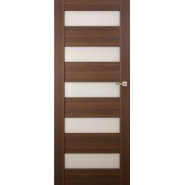VASCO DOORS Interiérové dveře SANTIAGO kombinované, model 7, Kaštan, A Online katalog produktů