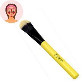 Sefiros Rovný štětec na make-up s rukojetí Pastell (Foundation Brush Pastell) Líčení