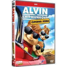 Alvin a Chipmunkové 4: Čiperná jízda   - DVD Animované