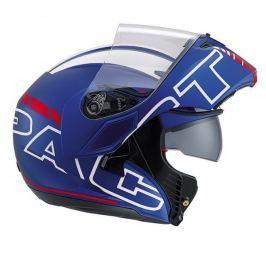 AGV přilba COMPACT Seattle, modrá matná/bílá/červená vel.XS (53-54cm) Helmy na motorku
