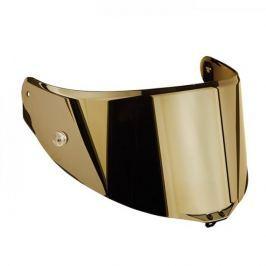 AGV plexi  RACE 2,, zrcadlová zlatá - pro přilby  PISTA GP, CORSA, GT VELOCE/S (1ks) Plexi na helmu