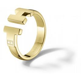 Tommy Hilfiger Luxusní zlatý prsten z oceli TH2700863 (Obvod 54 mm) Prsteny