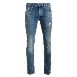 Pepe Jeans pánské jeansy Zinc Dusted 34/32 modrá