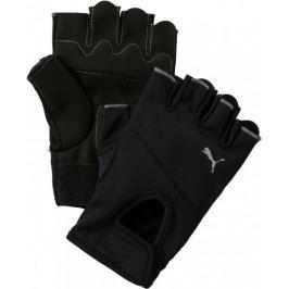 Puma TR Gloves Black - Silver Posilovací, fitness pomůcky