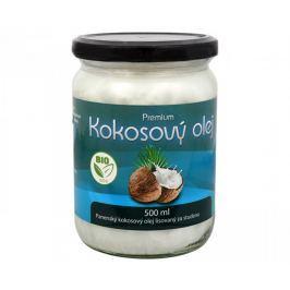 Allnature BIO kokosový olej Premium 500 ml Hydratace pokožky