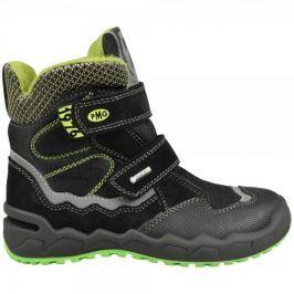 Primigi chlapecká zimní obuv 28 černá Obuv