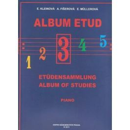KN Album etud III Škola hry na klavír Hudební nauka
