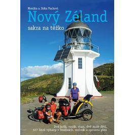 Vackovi Monika a Jirka: Nový Zéland sakra na těžko Mapy, cestování
