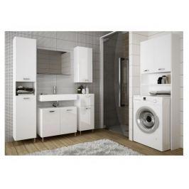 SINDY, koupelnová sestava, alpská bílá/bílý lesk