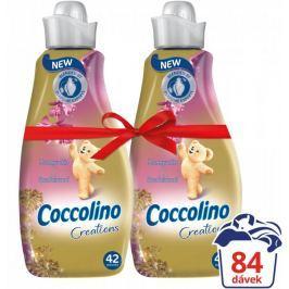 Coccolino Creations Honeysuckle & Sandalwood aviváž 2 x 1,5 l (84 praní)