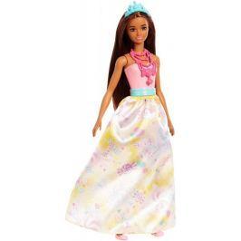Mattel Barbie princezna - modrá čelenka Barbie