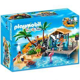 Playmobil 6979 Karibský ostrov s plážovým barem Playmobil