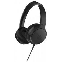 Audio-Technica ATH-AR3iS, černá Sluchátka s mikrofonem
